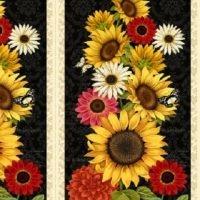 Sunset Blooms Panel 68429-953 Wilmington Prints