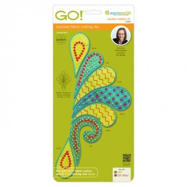 GO! Heather Feather #1 by Sarah Vedeler