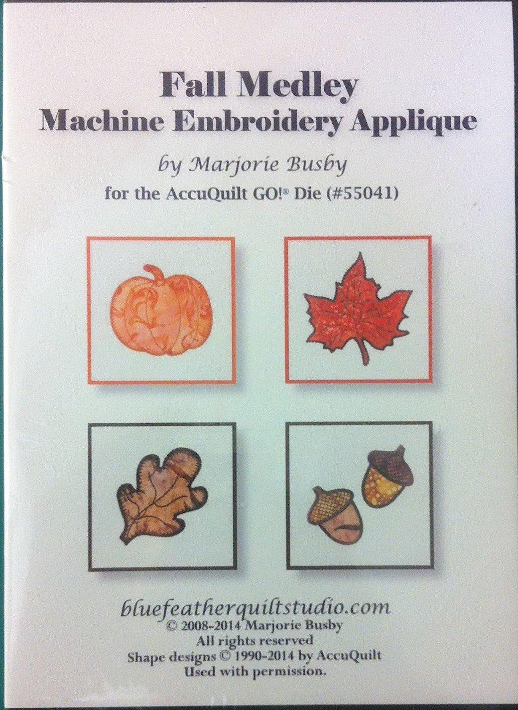 FALL MEDLEY APPLIQUE FOR ACCUQUILT 55041