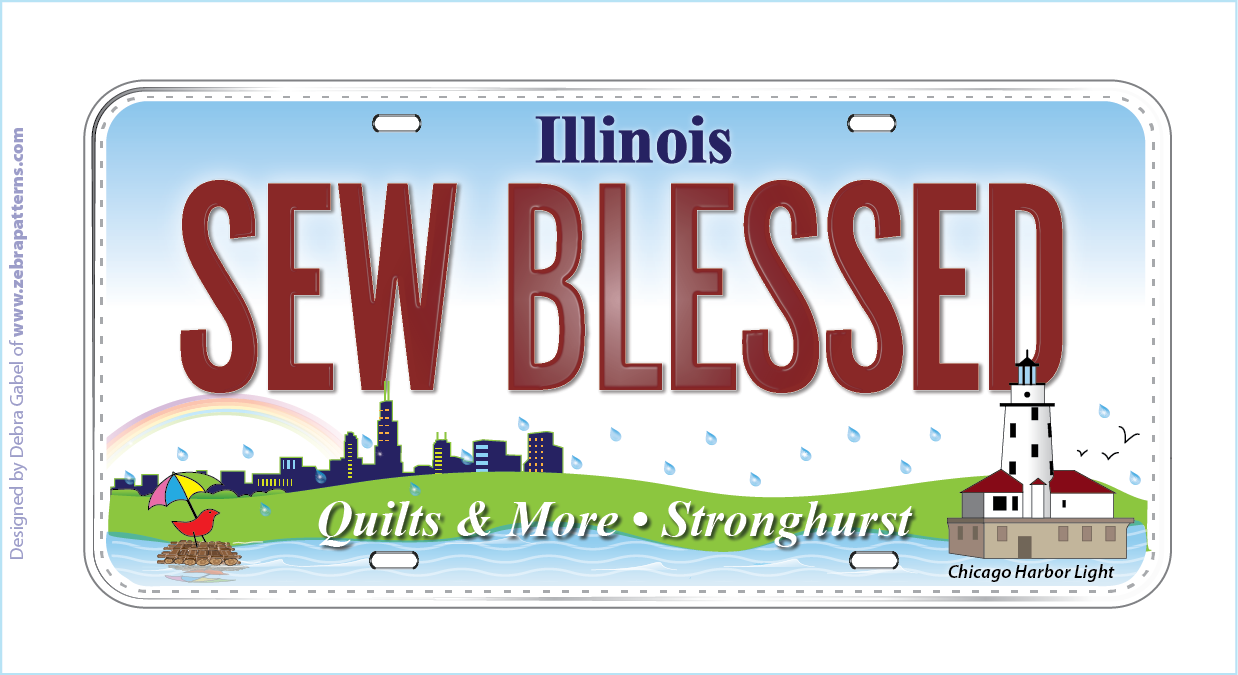 Row by Row - 2015 license plate
