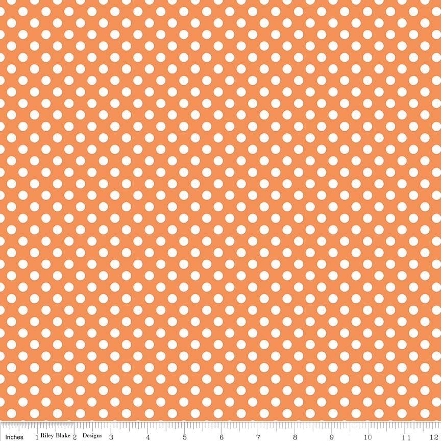Small Dots - Orange