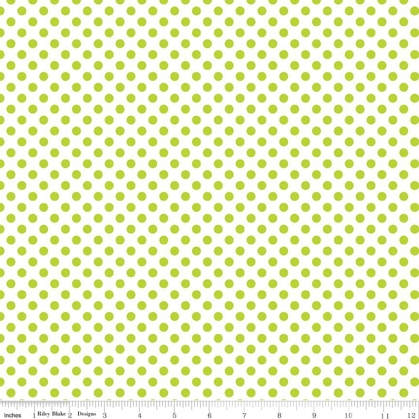 Small Dots - Lime