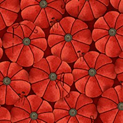 She Who Sews Red Pincushions