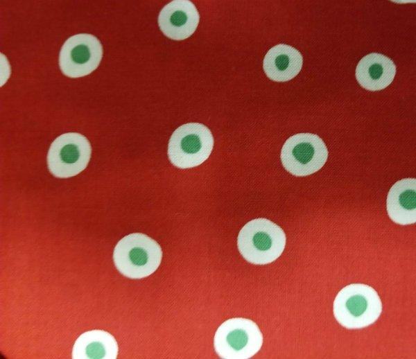 Crabapple Hill - Christmas Polka Dots