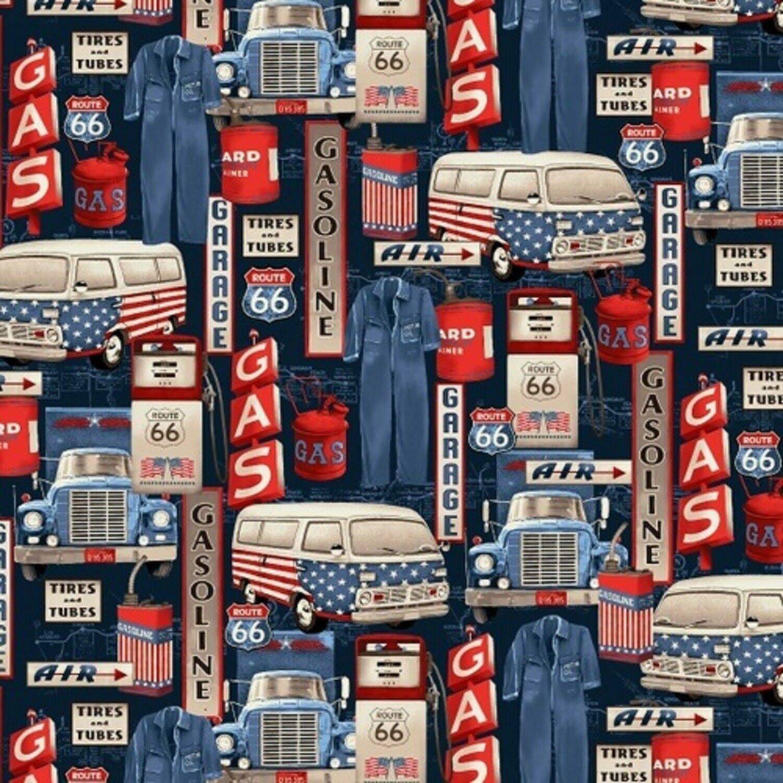 All America Road Trip - garage