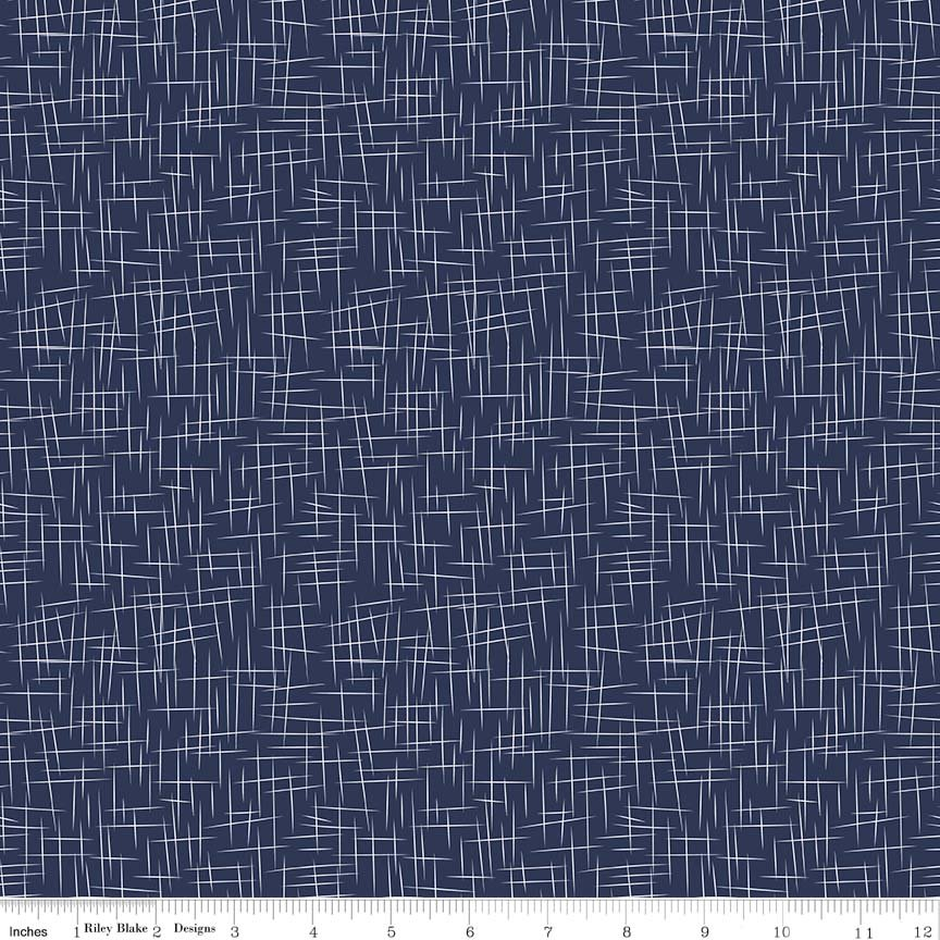 Hashtag Large - Color Navy