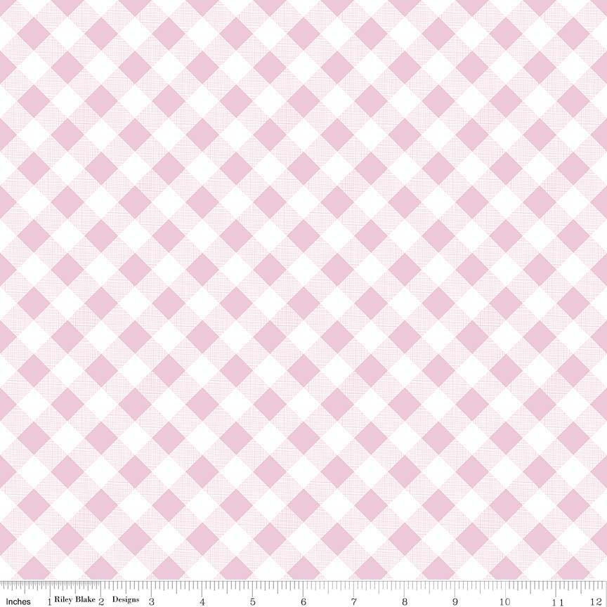 Sew Cherry 2 - Pink Gingham