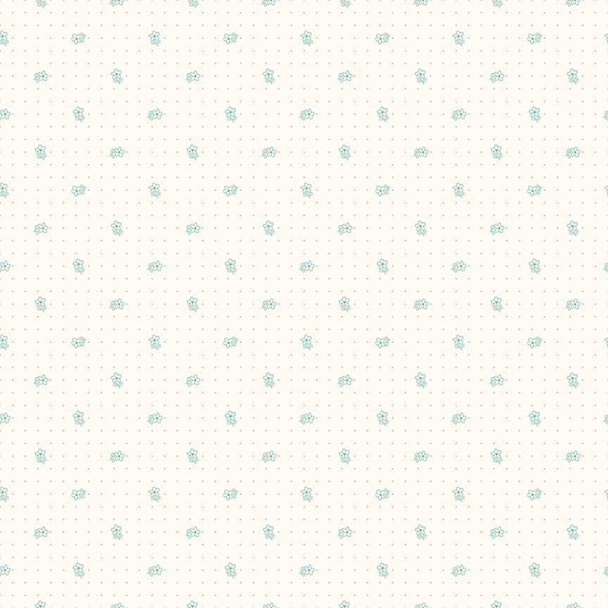 Bee Backgrounds - Daisy Teal