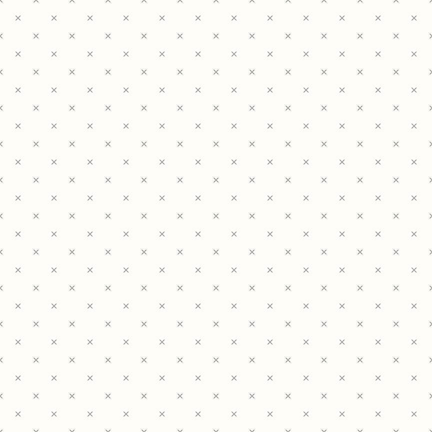 Bee Backgrounds - Crosstitch Gray