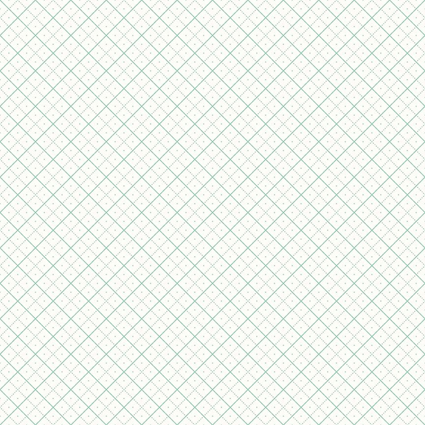 Bee Backgrounds - Grid Teal