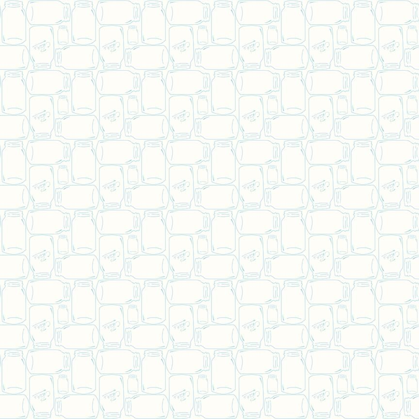 Bee Backgrounds - Cannin Jar Aqua