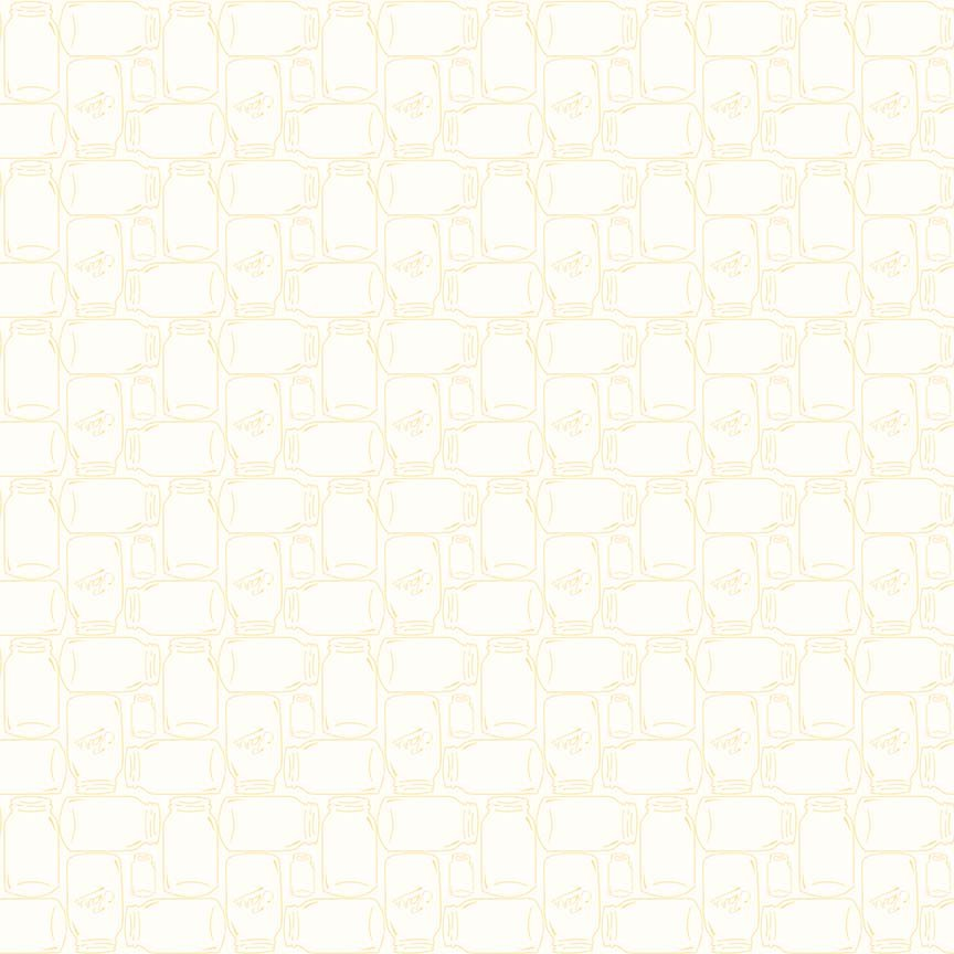 Bee Backgrounds - Cannin Jar Yellow