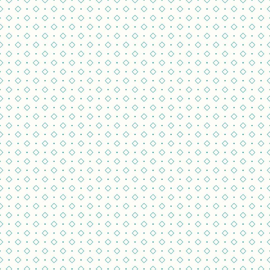 Bee Backgrounds - Diamond Turquoise
