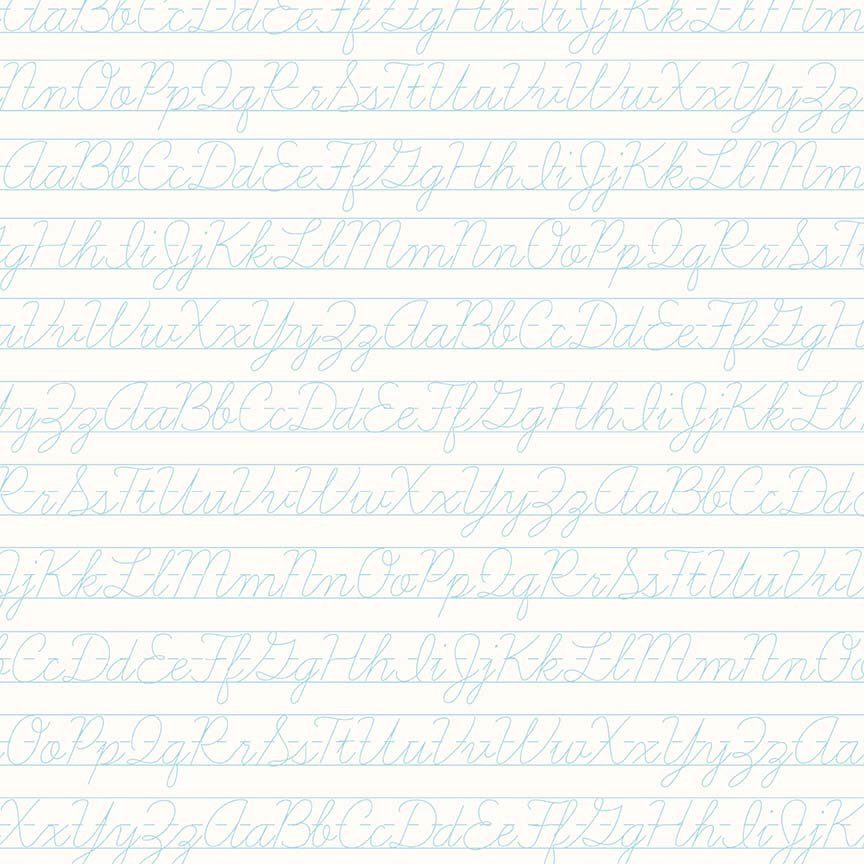 Bee Backgrounds - Penmanship Aqua