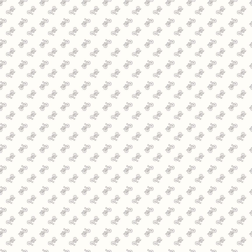Bee Backgrounds - Bicycle Gray