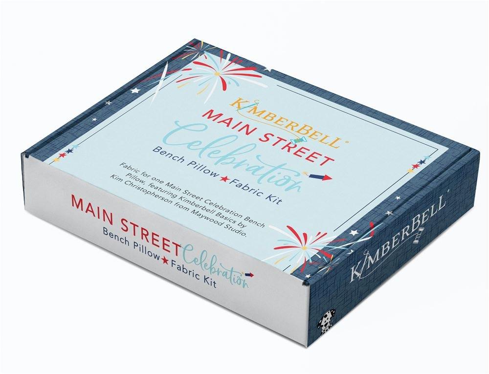 Kimberbell Main Street Celebration Bench Pillow Kit PRE-ORDER SHIPS EARLY FEBRUARY