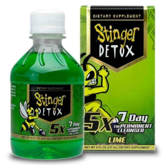 Stinger Detox 5x Extra Strength 7 Day Permanent Lime