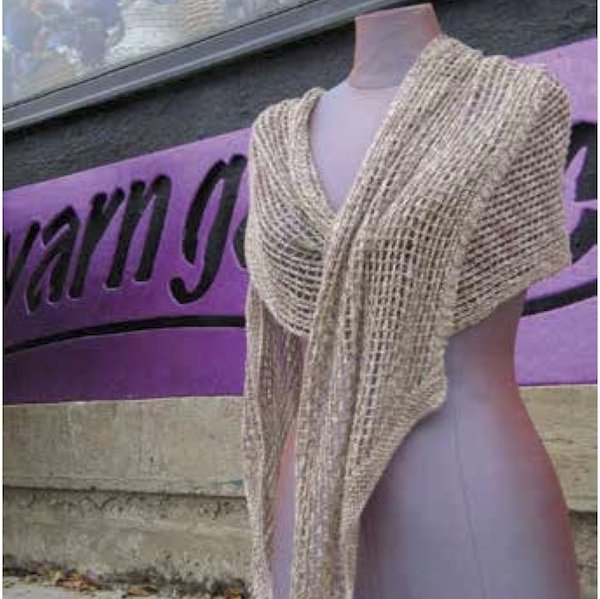Mermaid Shawl Pattern - PDF
