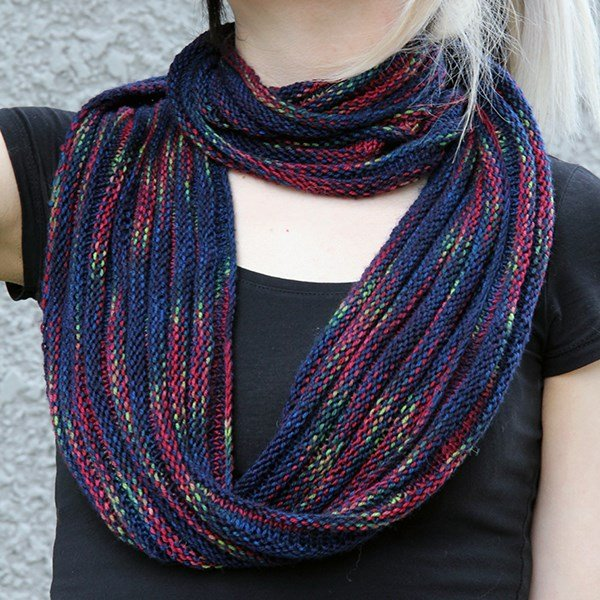 Mini Manhattan Cowl Pattern - PDF