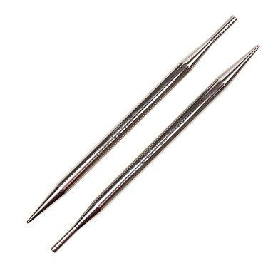 "13cm Brass Interchangeable Knitting Needle Tips Addi Click Turbo 5/"""