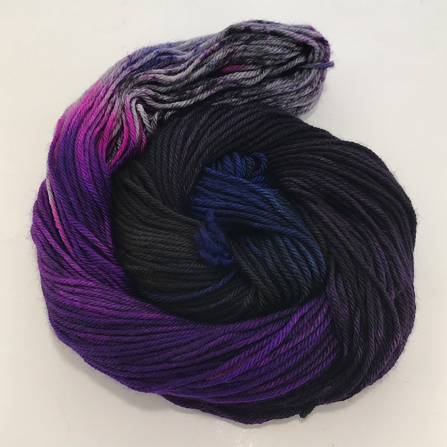 Three Irish Girls Springvale Worsted - Purple Rain