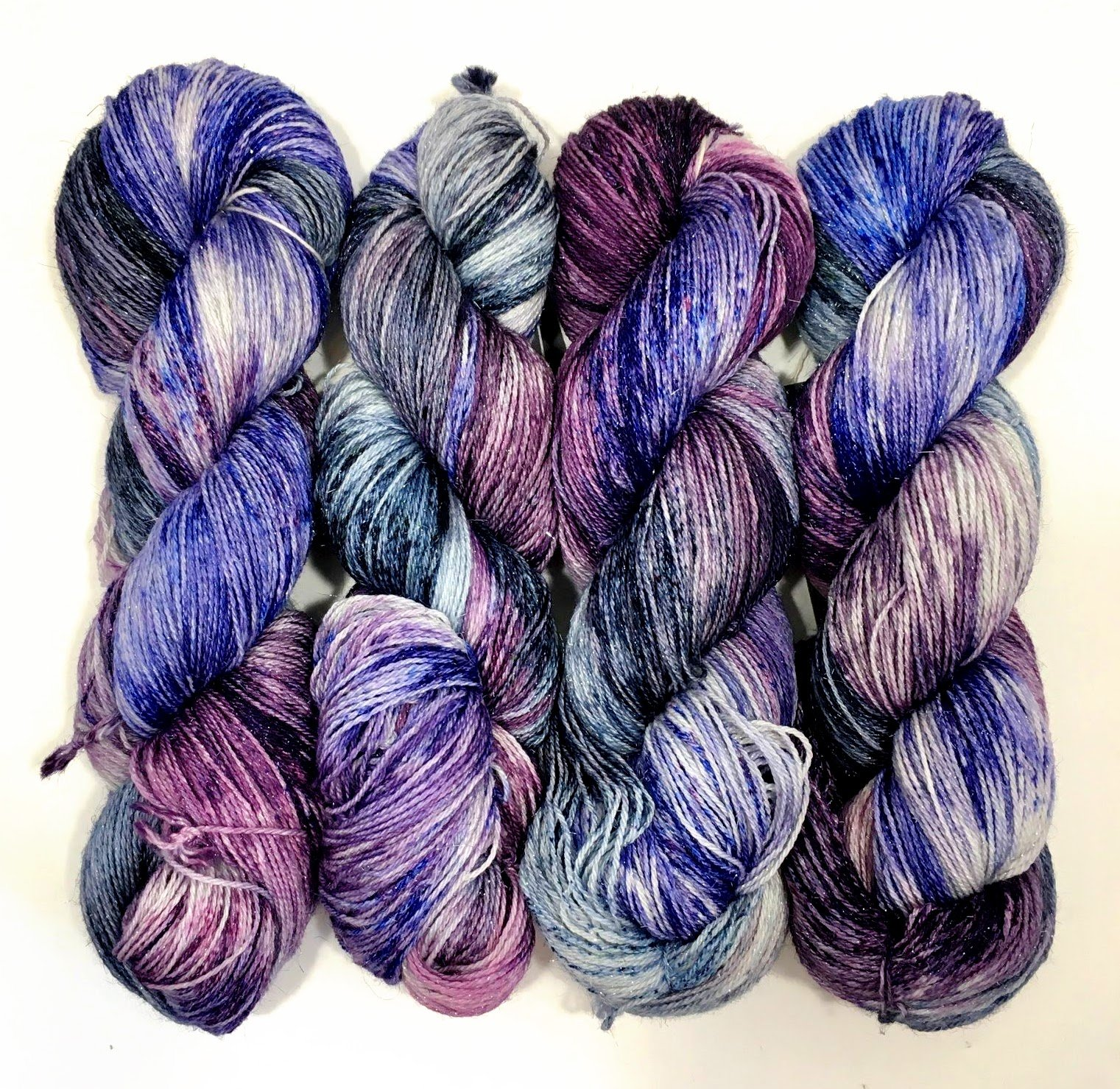 PREORDER: Alive with Purpose Yarn - Sparkle Fingering - All Hail the Purple One
