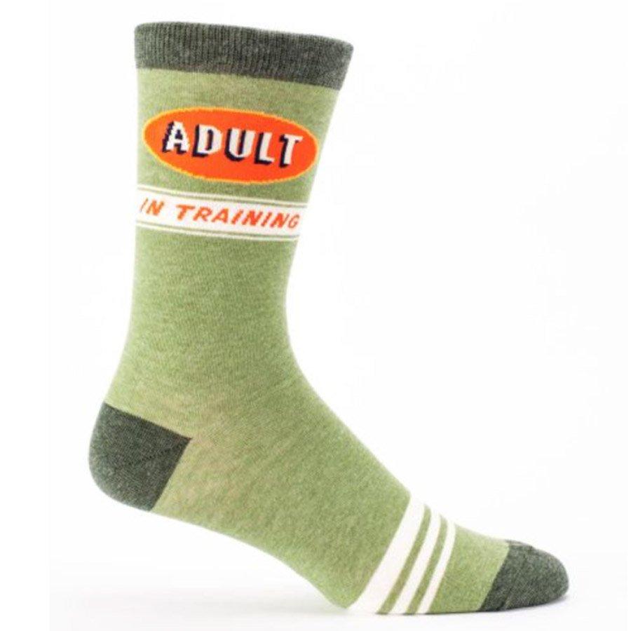 Blue Q Men's Socks - Adult in Training