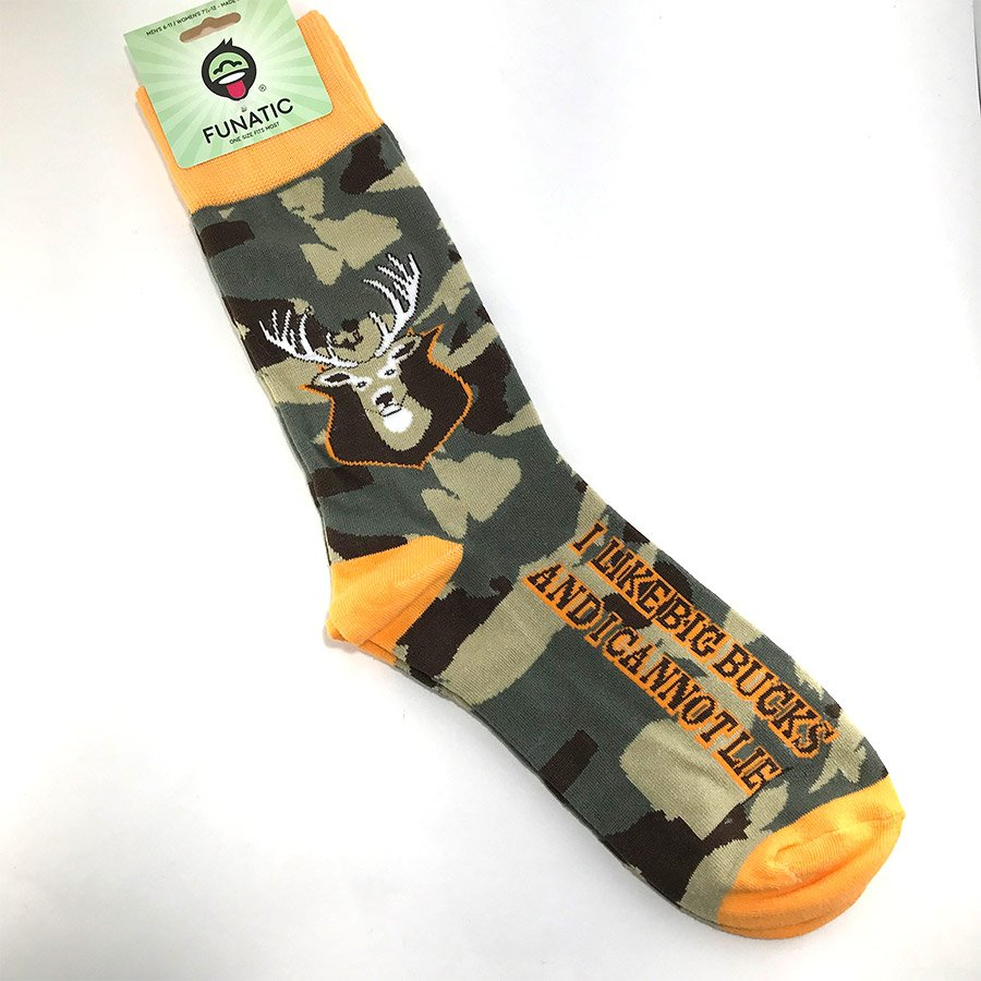 Funatic Socks - I Like Big Bucks