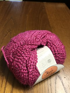 Alpaca with a Twist Punch - Pink 3013
