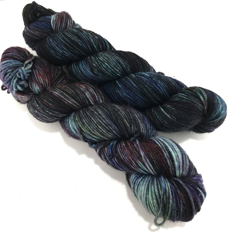 Black Cat Fibers Essential DK - Dirt Nap