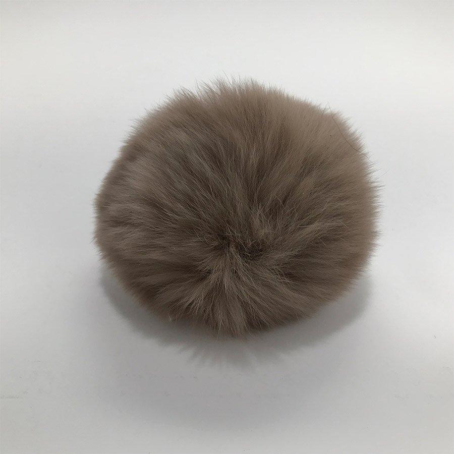 Fur Pom Pom 3 - Beige
