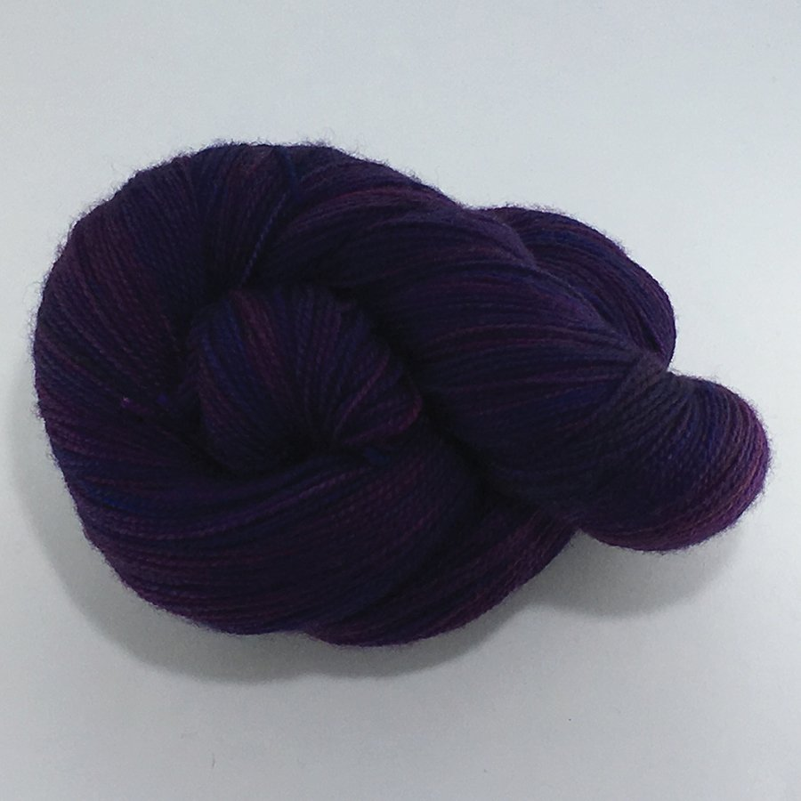 Urban Girl Yarns Fingering - Black Berry Pie