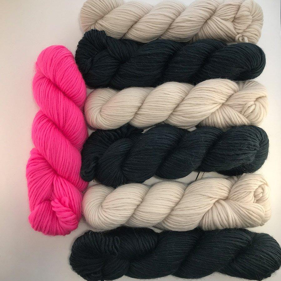 Brighton Rock Shawl Crochet Kt