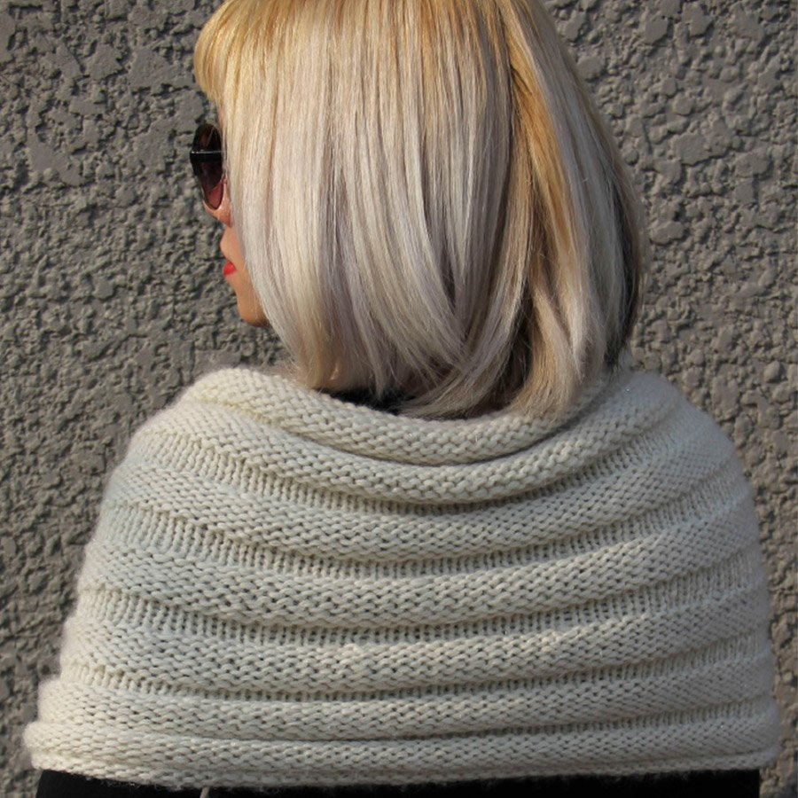 Beginner Series Cape Town Cowl Pattern - PDF