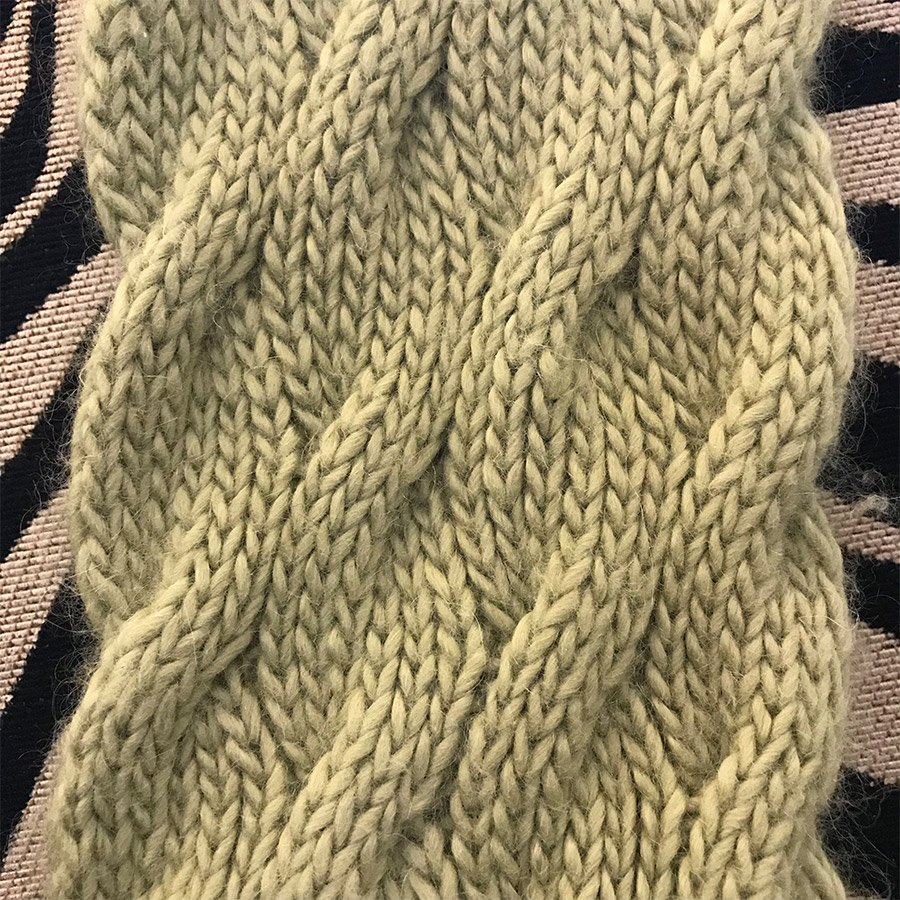 Cascading Cables Pattern - PDF