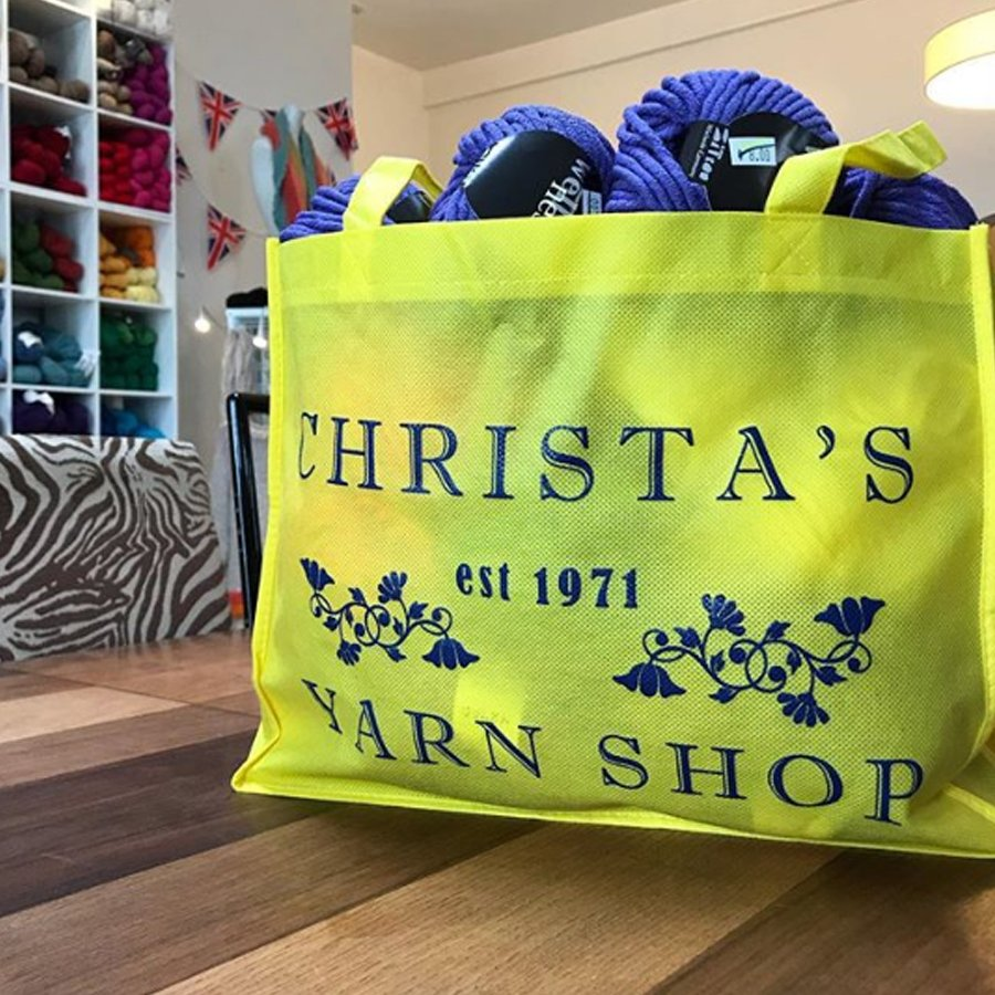 Mama Christa Shopping Bag