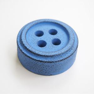 Cohana Button Paperweight - Blue