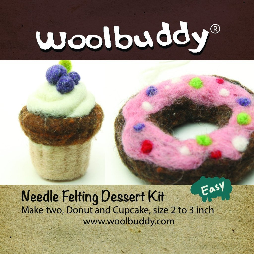 Woolbuddy Felting Kit Small - Dessert