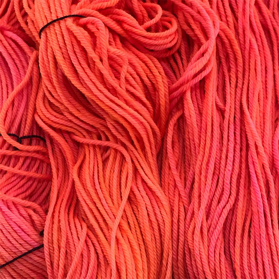 Madelinetosh Tosh DK - Neon Peach