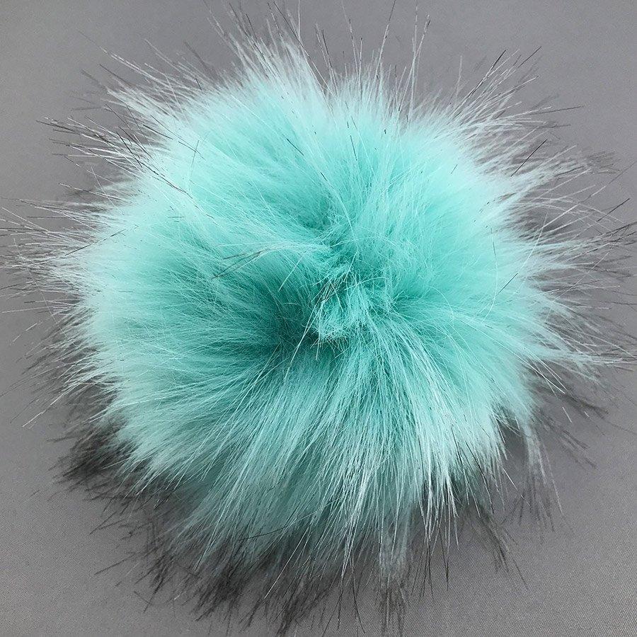 McPorter Faux Fur Pom Pom - 011 Aqua