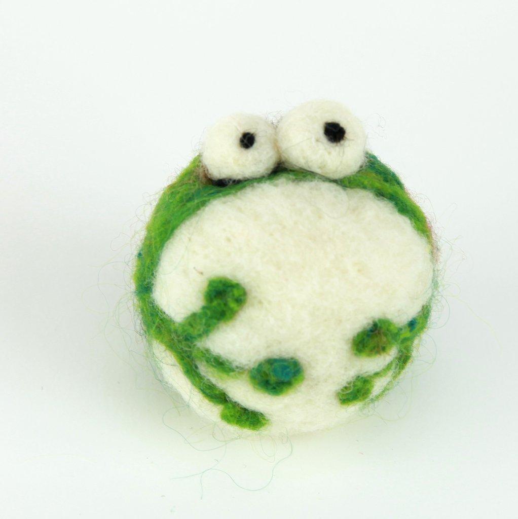 Woolbuddy Felting Kit Small - Frog