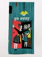 Blue Q Dish Towel - Go Away