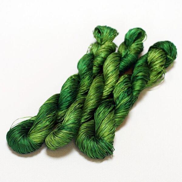 Alchemy Silken Straw - Green Plum