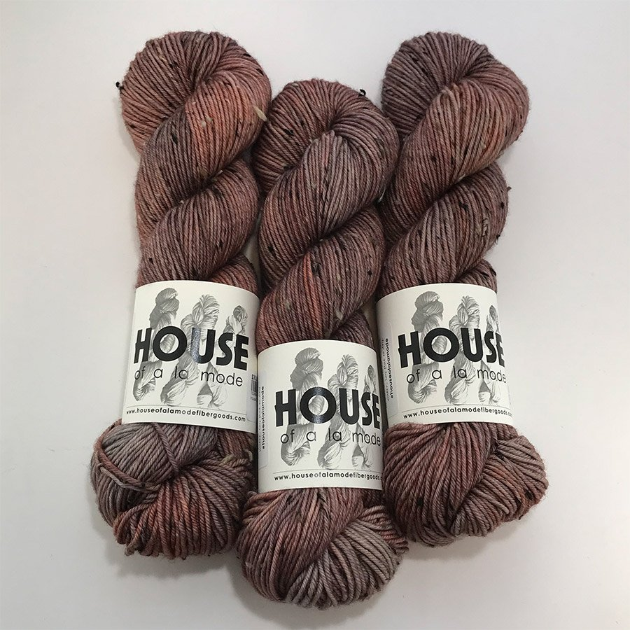 House Of A La Mode Tweed DK - Rose Quartz