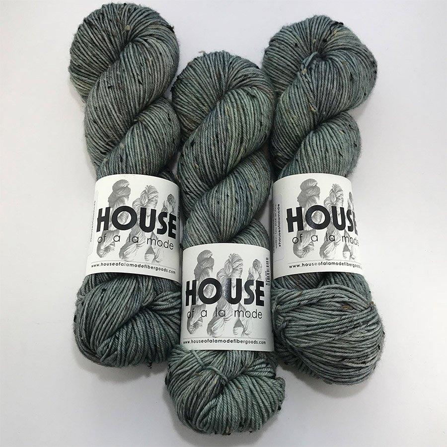 House Of A La Mode Tweed DK - Sage