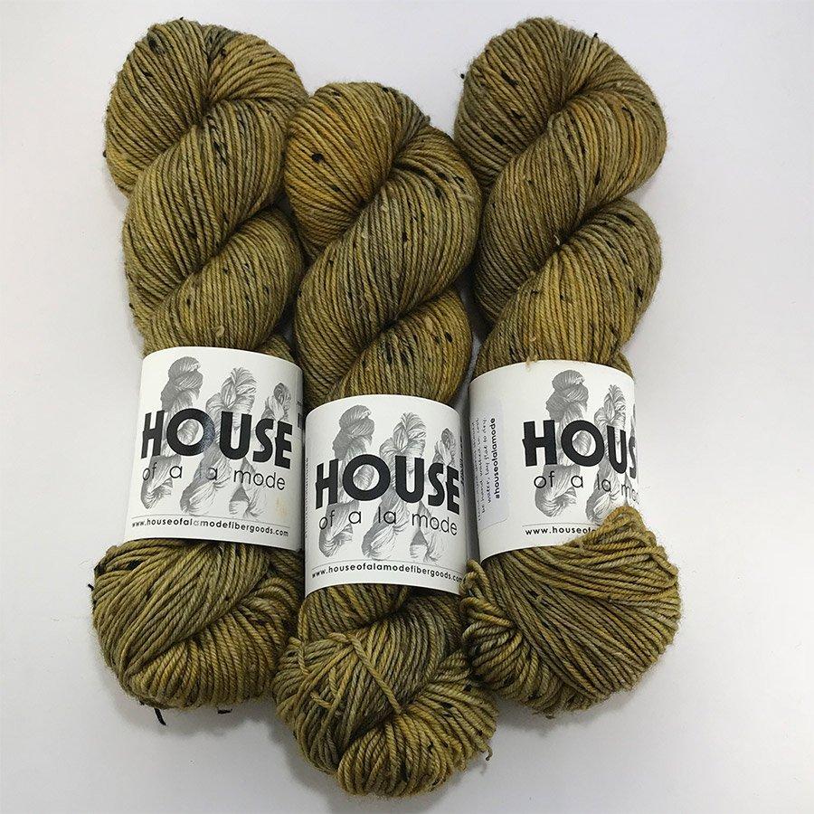 House Of A La Mode Tweed DK - Topaz