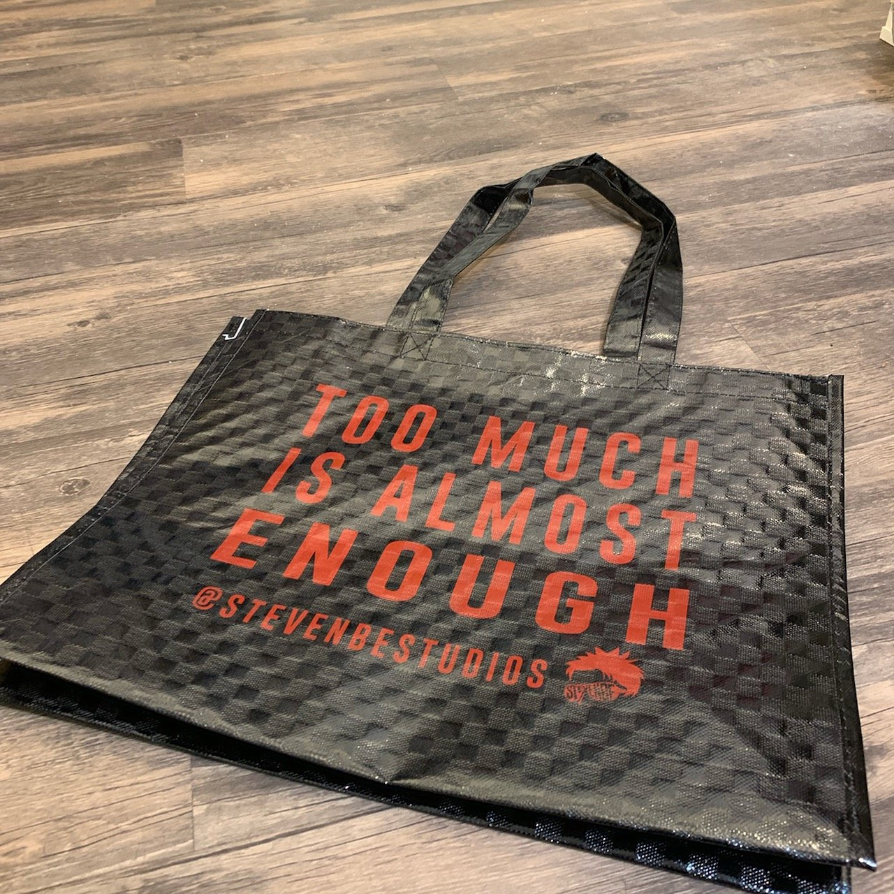 StevenBe Too Much Is Almost Enough Tote