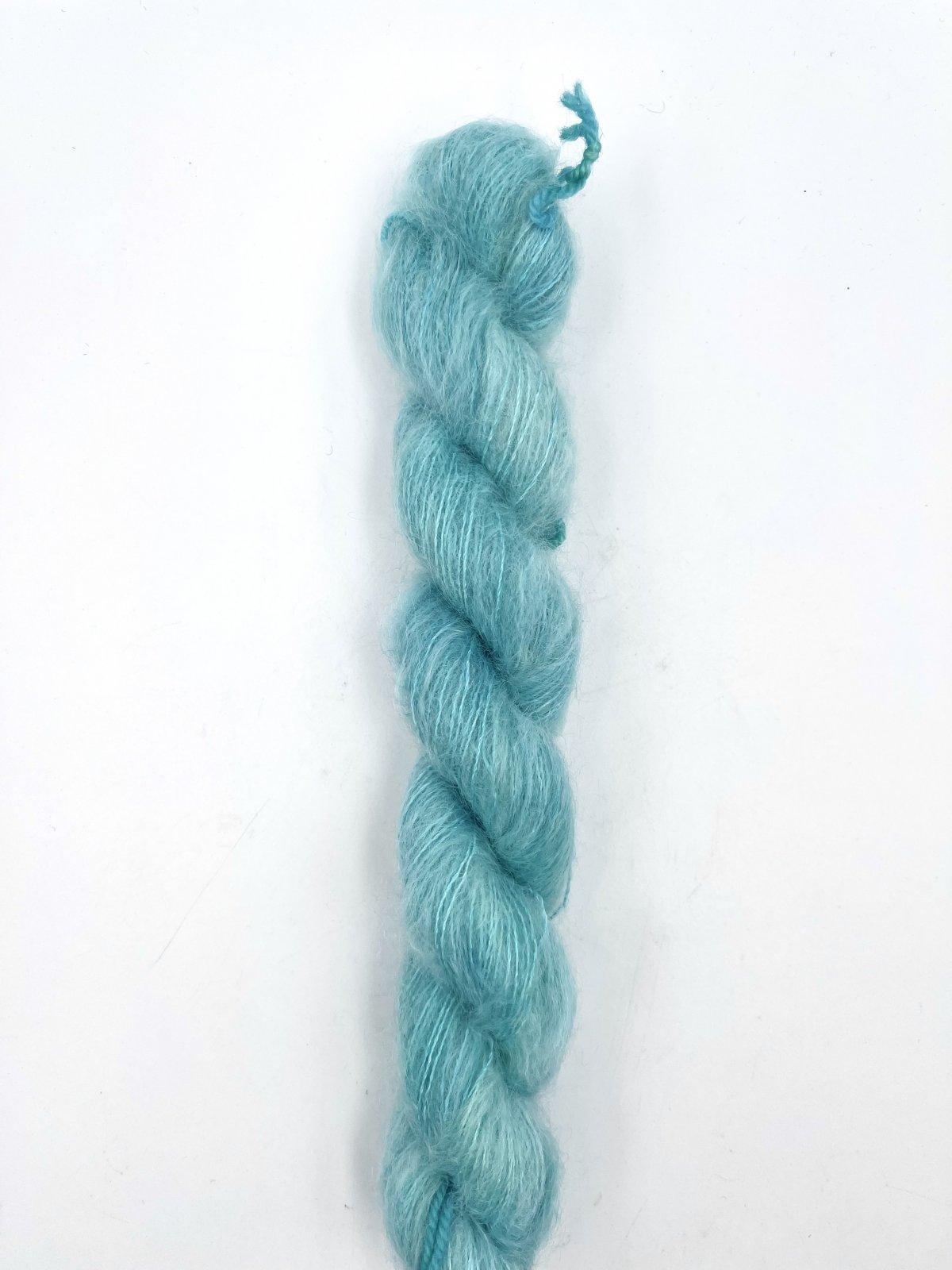 Kleur en Draad Kidsilk Mohair Mini - Blue Ivy