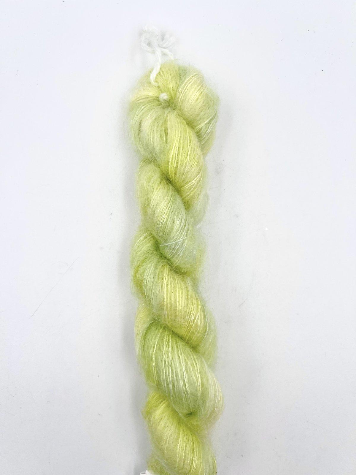 Kleur en Draad Kidsilk Mohair Mini - Lemon Lemon