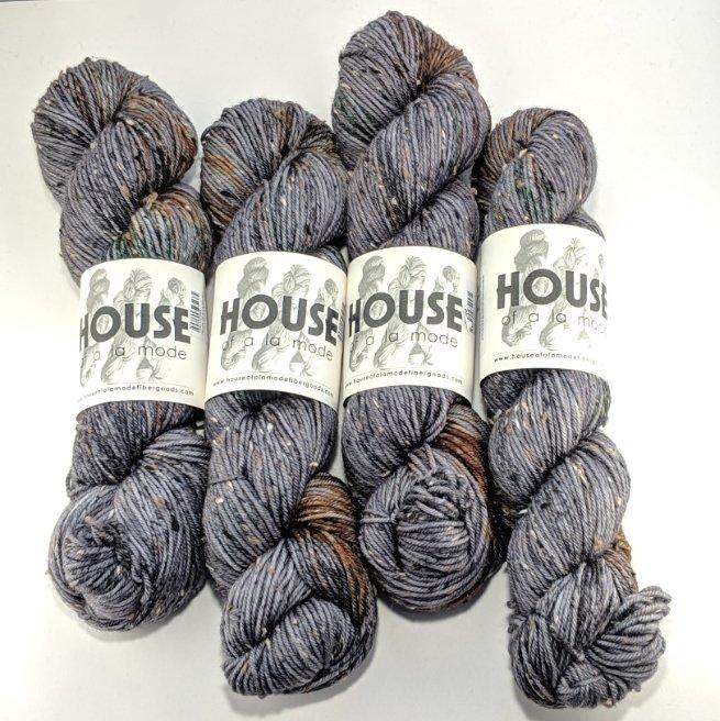 House Of A La Mode House Tweed DK - Lumbersexual